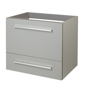 "Ryvyr V-SELLA-60MGR Sella 23-5/8"" Modern Bathroom Vanity in Luxe Grey Finish"