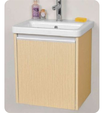 "Ryvyr V-TYNE-50MLB Tyne 18-1/4"" Modern Bathroom Vanity in Light Bamboo Finish"