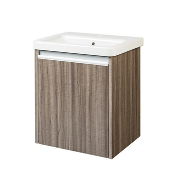 "Ryvyr V-TYNE-50MSA Tyne 18-1/4"" Modern Bathroom Vanity in Sawcut Ash Finish"