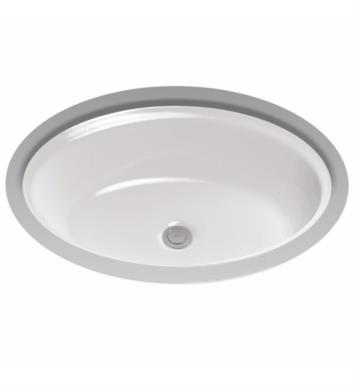"TOTO LT641#01 Dartmouth 21 1/4"" Vitreous China Oval Undercounter Lavatory Sink With Finish: Cotton"