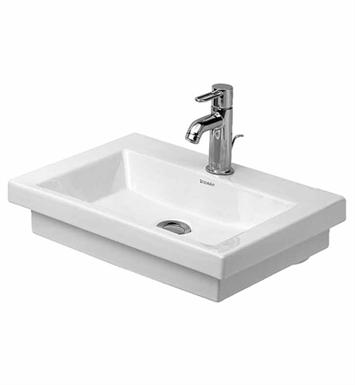 Duravit Sink Wall Mount : Duravit 07905000001 2nd Floor Wall-Mount Porcelain Bathroom Sink
