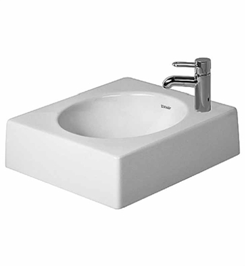Duravit 03204500 architec above counter porcelain bathroom for Duravit architec sink
