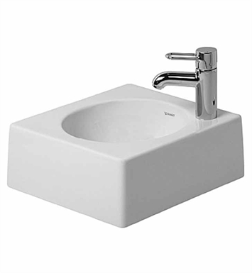 Duravit 03204000 architec above counter porcelain bathroom for Duravit architec basin