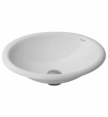 Duravit 0318500000 architec drop in porcelain bathroom sink for Duravit architec tub