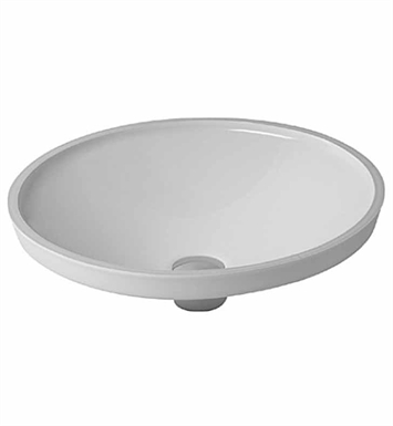 Duravit 0319420000 architec undermount porcelain bathroom sink for Duravit architec toilet