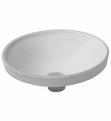 Duravit 0319370000 architec undermount porcelain bathroom sink for Duravit architec basin