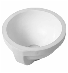 Duravit Architec 10 7/8 Undermount Porcelain Bathroom Sink