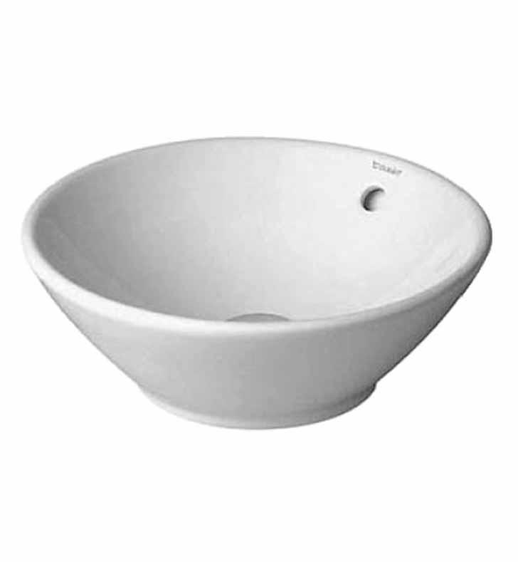 Duravit 0325420000 Bacino Vessel Porcelain Bathroom Sink