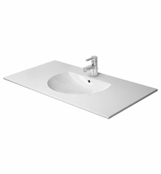 "Duravit Darling New Vanity Top W 40 1/2"" x D 21 1/2"" Porcelain Bathroom Sink"