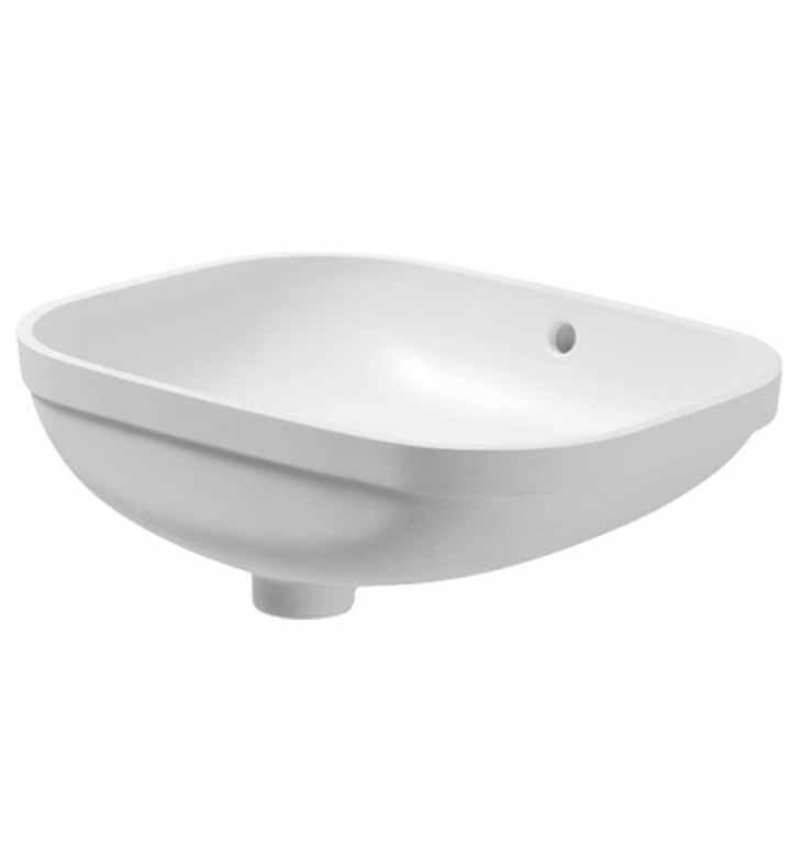 duravit 0338560000 d code 22 inch undermount bathroom sink