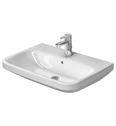 Duravit DuraStyle 25 5/8 inch Wall Mount Porcelain Bathroom Sink
