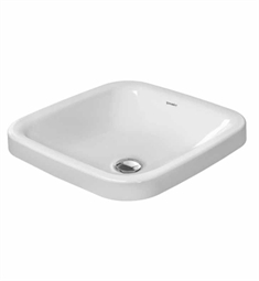 Duravit DuraStyle 16 7/8 inch Drop In Porcelain Bathroom Sink