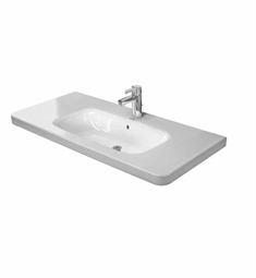 Duravit DuraStyle 39 3/8 inch Drop In Porcelain Bathroom Sink