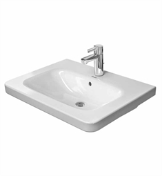 Duravit DuraStyle 25 5/8 inch Drop In Porcelain Bathroom Sink