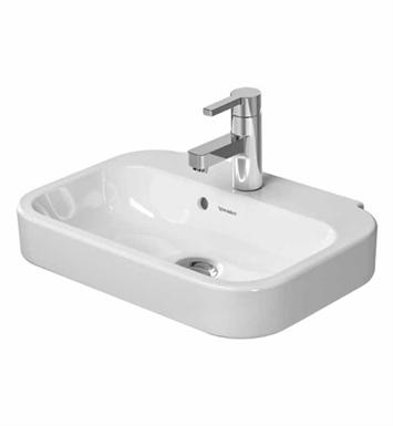 Duravit Sink Wall Mount : Duravit 0709500000 Happy D Wall Mount Porcelain Bathroom Sink