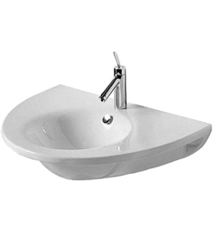 Duravit Starck 29 1/2 inch Wall-Mount Porcelain Bathroom Sink