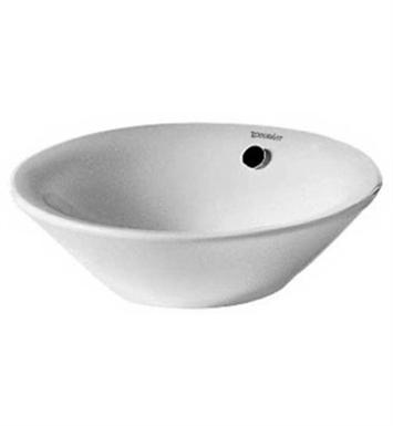13 Inch Vessel Sink : ... -04083300001 Duravit Starck 13 inch Vessel Porcelain Bathroom Sink