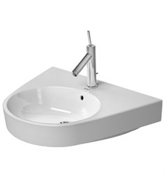 Duravit Starck 25 5/8 inch Wall Mount Porcelain Bathroom Sink