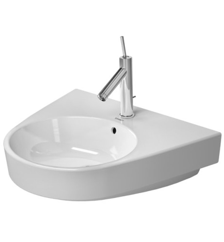 duravit bathroom sinks duravit 23235500 starck 21 5 8 inch wall mount porcelain 12750