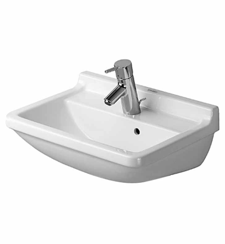 Duravit 0300500000 Starck 19 5/8 inch Wall Mount Porcelain Bathroom ...