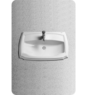 "TOTO LT971.8#12 Guinevere® Self-Rimming Lavatory - ADA With Finish: Sedona Beige And Faucet Holes: Three Hole for 8"" Faucet Centers"