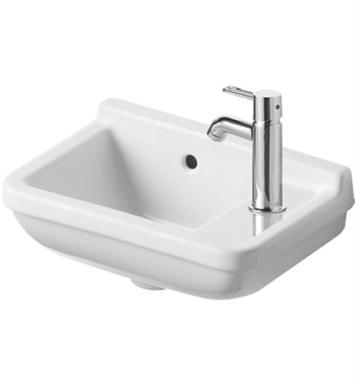 ... 0751400000 Starck 15 3/4 inch Wall Mount Porcelain Bathroom Sink