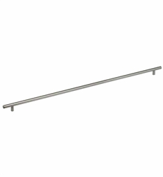 "Omnia 9465 Solid Brass 32 1/4"" Bar Cabinet Pull Handle"