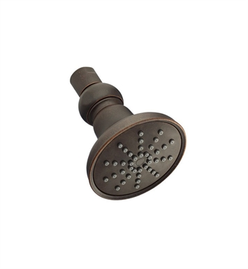 Danze d460052br Mono Round™ Single Function Showerhead in Tumbled Bronze