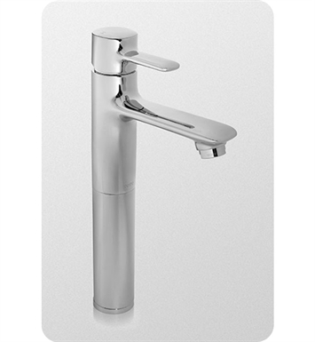 TOTO TL416SDH#CP Aquia® Single-Handle Lavatory Faucet - Vessel With Finish: Polished Chrome