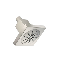 "Danze 4"" Square Single Function Showerhead in Brushed Nickel"