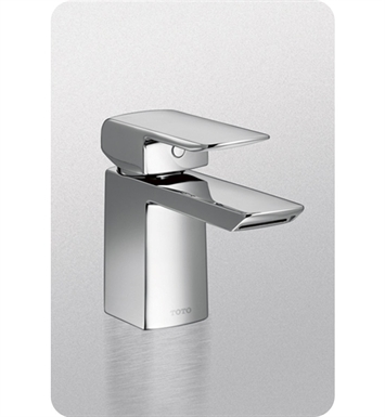 TOTO TL960SDLQ#PN Soirée Single Handle Bathroom Faucet with Pop-Up Drain With Finish: Polished Nickel