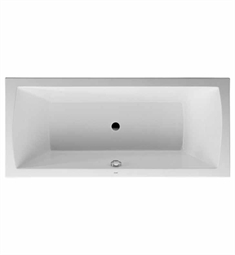 Duravit Daro 70002800 Customizable Built-In Rectangular Bathtub
