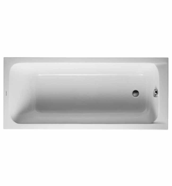 duravit 70010000 d code customizable rectangular bathtub. Black Bedroom Furniture Sets. Home Design Ideas
