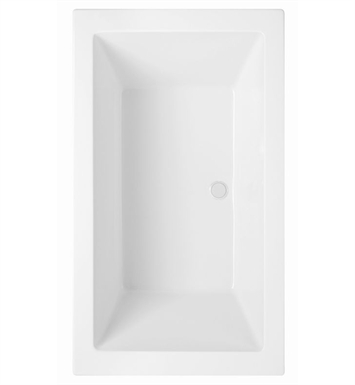 Aquatic AI21AIR7242CTO-WH Estate Serenity Two-Person Soaker Bathtub With Tub Color: White