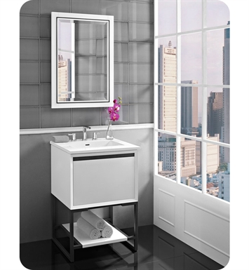 "Fairmont Designs 1525-V24 m4 24"" Vanity in Glossy White"