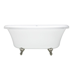 Aquatic AI37AIR6638TO Estate Serenity Two-Person Freestanding Oval Soaker Bathtub