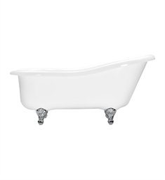 Aquatic Estate AIY6617TO Serenity Freestanding Soaker Bathtub