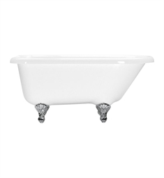 Aquatic Estate AIY5417TO Serenity Freestanding Soaker Bathtub