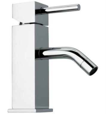"LaToscana 57CR211 Axia 6 5/8"" Single Handle Deck Mounted Bathroom Sink Faucet with Pop-Up Drain in Chrome"