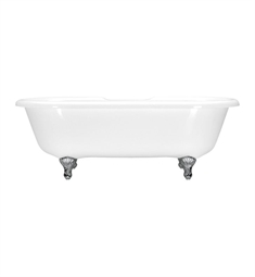 Aquatic Estate AIY6717TO Serenity Freestanding Two-Person Soaker Bathtub