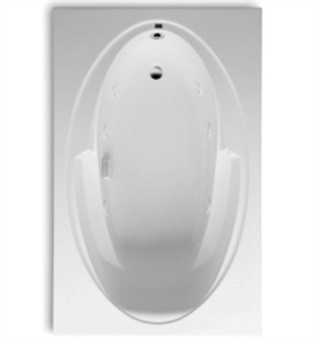 Aquatic 3266421-WH Builders' Choice Antares Whirlpool Bathtub With Tub Color: White