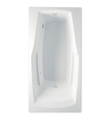 Aquatic 4360531-AL Builders' Choice Ascot Whirlpool Bathtub With Tub Color: Almond