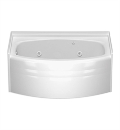 Aquatic Builders' Choice 9760601Q Victoria Whirlpool Bathtub with Extended Skirt