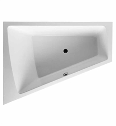 Duravit 70021400 Paiova Customizable Left Corner Bathtub