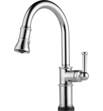 Brizo 64025LF-PC Artesso Single Handle Pull-Down Kitchen Faucet With Smarttouch(R) Technology With Finish: Chrome