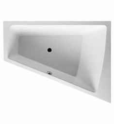 Duravit 70021500 Paiova Customizable Right Corner Bathtub