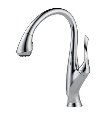 Brizo 63052LF Belo Single Handle Pull-Down Kitchen Faucet
