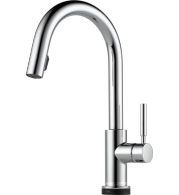 Brizo 64020LF-PC Solna Single Handle Single Hole Pull-Down Kitchen Faucet With Smarttouch(R) Technology With Finish: Chrome