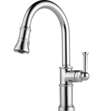 Brizo 63025LF-PC Artesso Single Handle Pull-Down Kitchen Faucet With Finish: Chrome