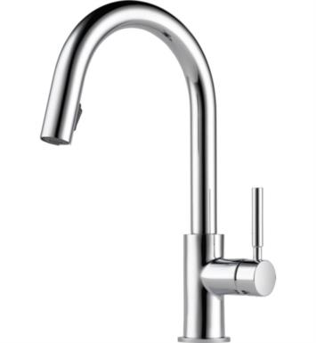 Brizo 63020LF-PC Solna Single Handle Pull-Down Kitchen Faucet With Finish: Chrome